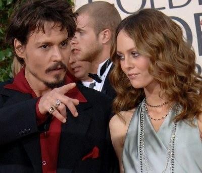 Johnny i Vanessa /AFP