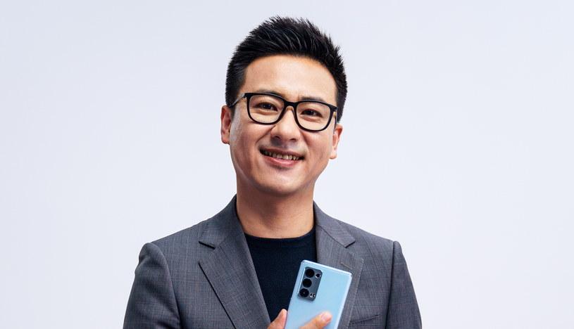 Johnny Zhang, OPPO /materiały prasowe