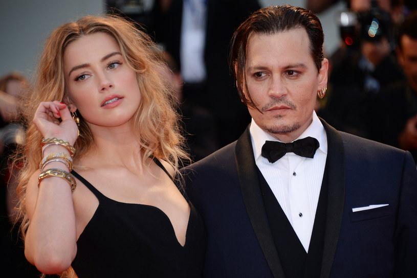 Johny Depp z ówczesną żoną Amber Heard w 2015 roku /SPUTNIK/EAST NEWS /East News