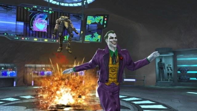 Joker nawet w grze nie potrafi zachować powagi /INTERIA.PL
