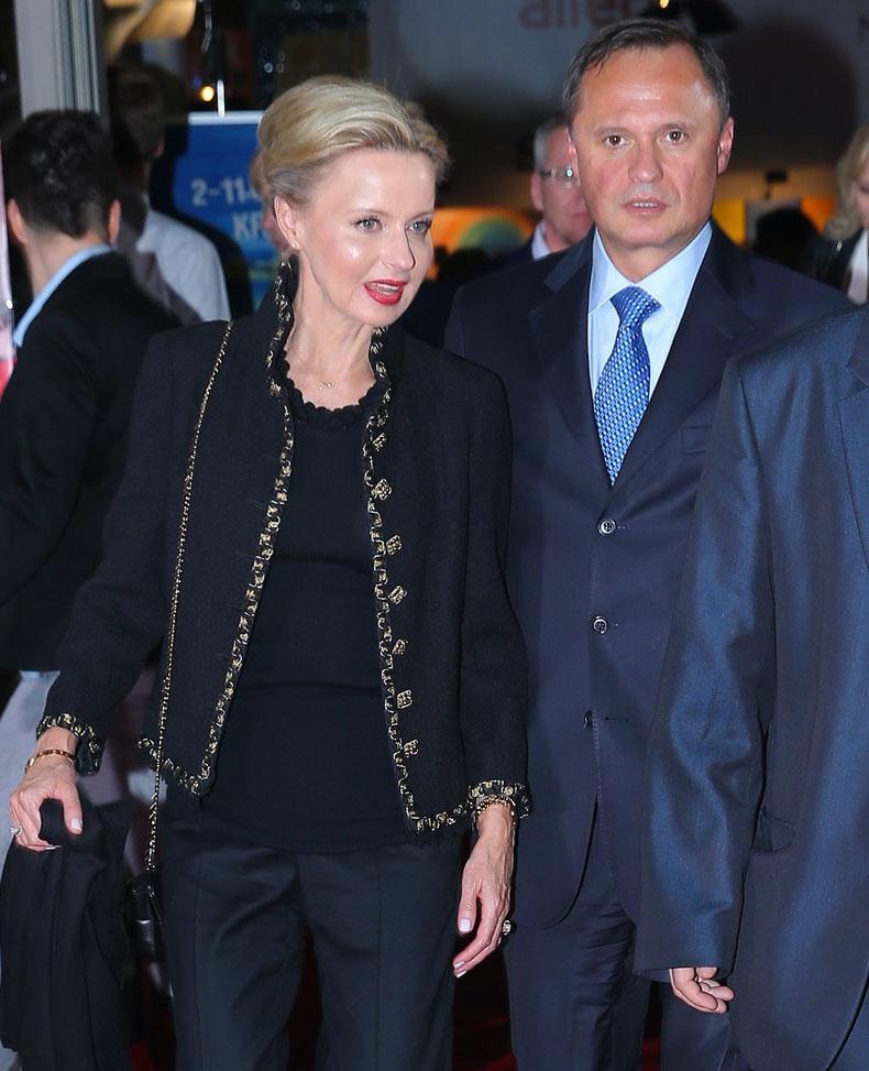 Jola Pieńkowska i Leszek Czarnecki /Damian Klamka /East News