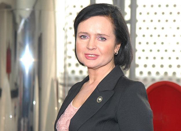 Jolanta Fajkowska nie wychodzi z domu bez pomalowanych ust / fot/ M. Ulatowski /MWMedia