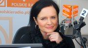 Jolanta Fajkowska w radiowej Jedynce