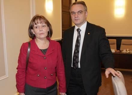 Jolanta Fedak i Waldemar Pawlak / fot. P. Bławicki /Agencja SE/East News