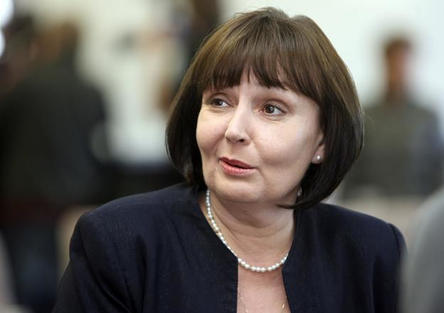 Jolanta Fedak, minister pracy. Fot. BARTOSZ KRUPA /Agencja SE/East News