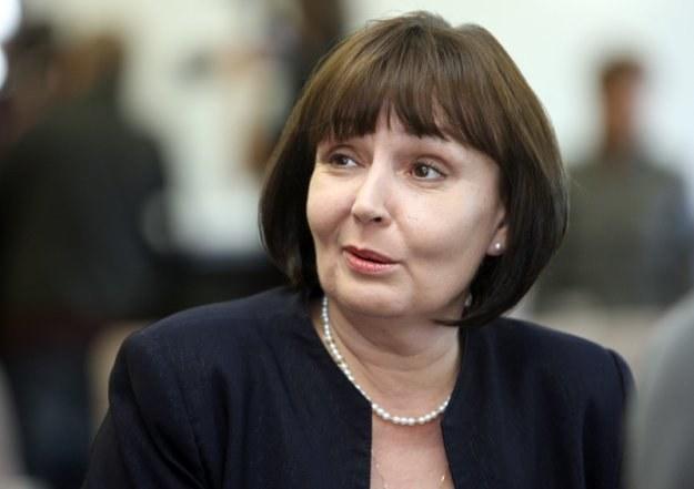 Jolanta Fedak, minister pracy /fot. Bartosz Krupa /Agencja SE/East News