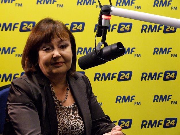 Jolanta Fedak, winna całego zamieszania była minister pracy /RMF