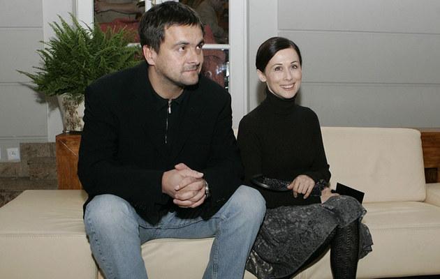 Jolanta Fraszyńska i Grzegorz Kuczeriszka, fot.Jacek Grąbczewski  /AKPA