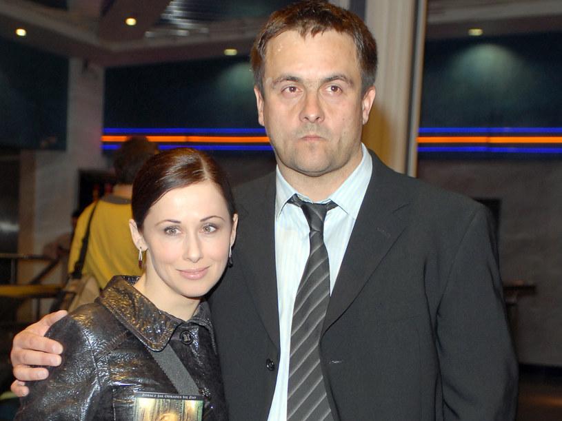 Jolanta Fraszyńska z byłym mężem, Grzegorzem Kuczeriszką  /Marek Ulatowski /MWMedia