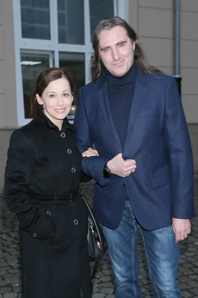 Jolanta Fraszyńska z partnerem /VIPHOTO /East News
