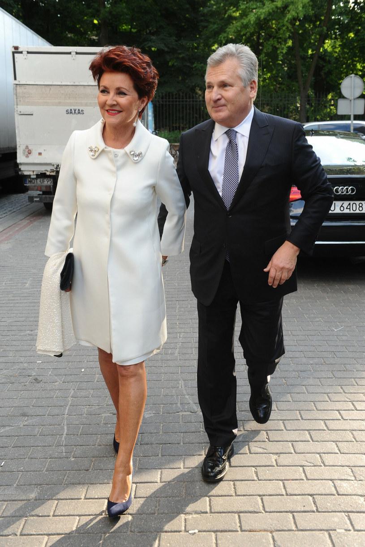 Jolanta i Aleksander Kwaśniewscy /VIPHOTO /East News