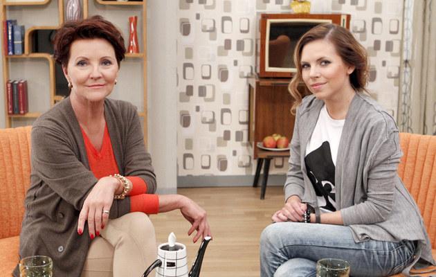Jolanta i Ola Kwaśniewskie, fot.Ida Podsiebierska  /AKPA