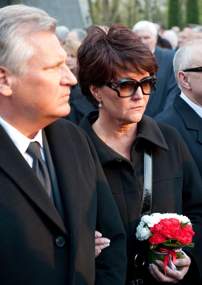 Jolanta Kwaśniewska i Aleksander Kwaśniewski, kwiecień 2010 /Jarosław Antoniak /MWMedia