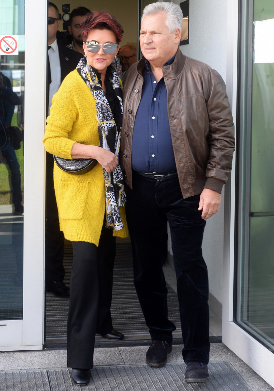 Jolanta Kwaśniewska i Aleksander Kwaśniewski /Jan Bielecki /East News