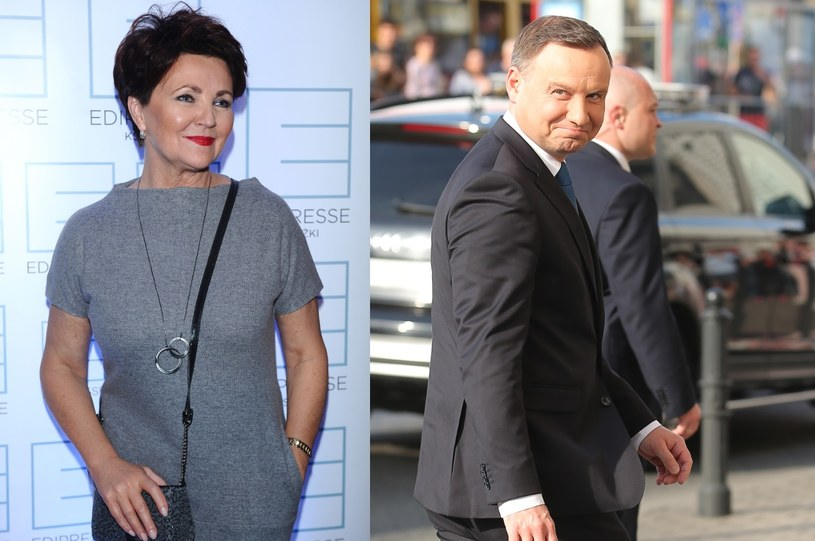 Jolanta Kwaśniewska i Andrzej Duda /- /MWMedia