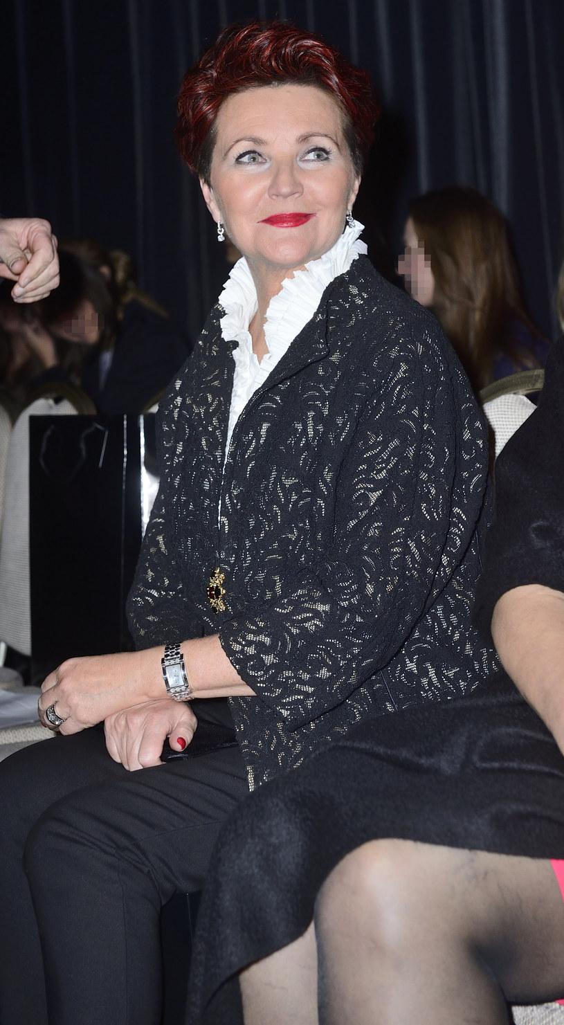 Jolanta Kwaśniewska, listopad 2013 /Jarosław Antoniak /MWMedia