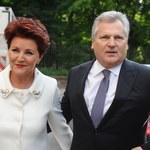 Jolanta Kwaśniewska z głębokim dekoltem i kusej sukience! Co za widok