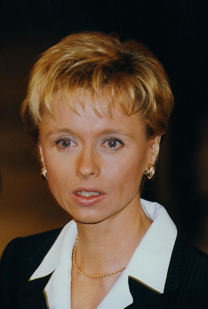 Jolanta Pieńkowska (1999 r.) /Niemiec /AKPA
