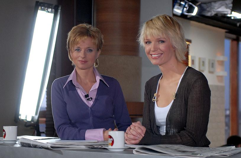Jolanta Pieńkowska i Magda Mołek /Andras Szilagyi /MWMedia
