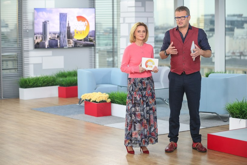 Jolanta Pieńkowska i Marcin Meller /Kamil Piklikiewicz /East News