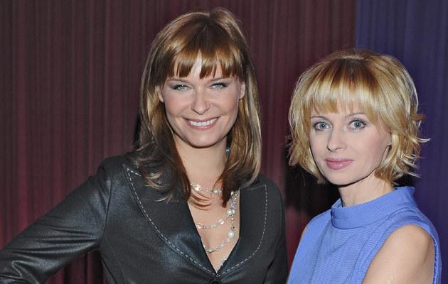Jolanta Pieńkowska i Paulina Młynarska, fot. Andrzej Szilagyi  /MWMedia