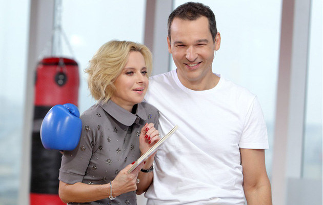 Jolanta Pieńkowska i Robert Kantereit /Jan Kucharzyk /East News