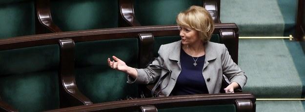 Jolanta Szczypińska w Sejmie / Tomasz Gzell    /PAP