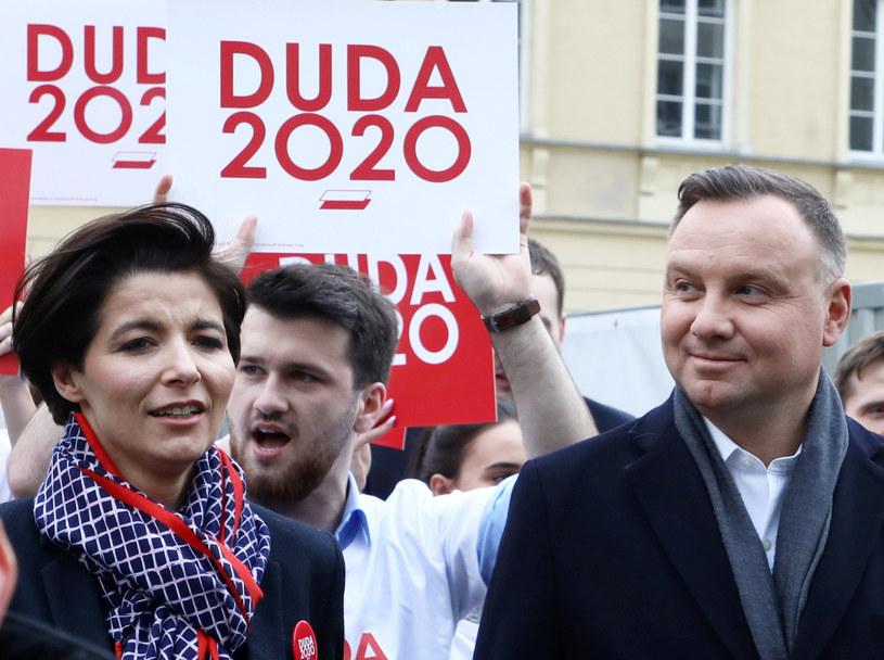 Jolanta Turczynowicz-Kieryłło i Andrzej Duda /Piotr Molecki /East News