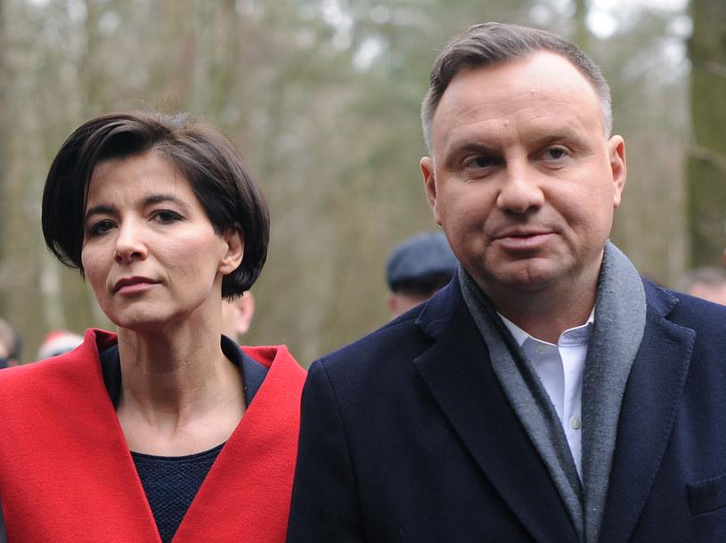 Jolanta Turczynowicz-Kieryłło i Andrzej Duda /Adam Chelstowski /Agencja FORUM