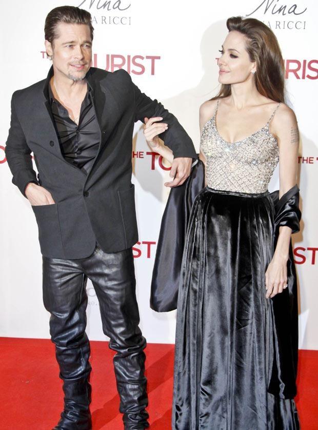 Jolie i Pitt  /Splashnews