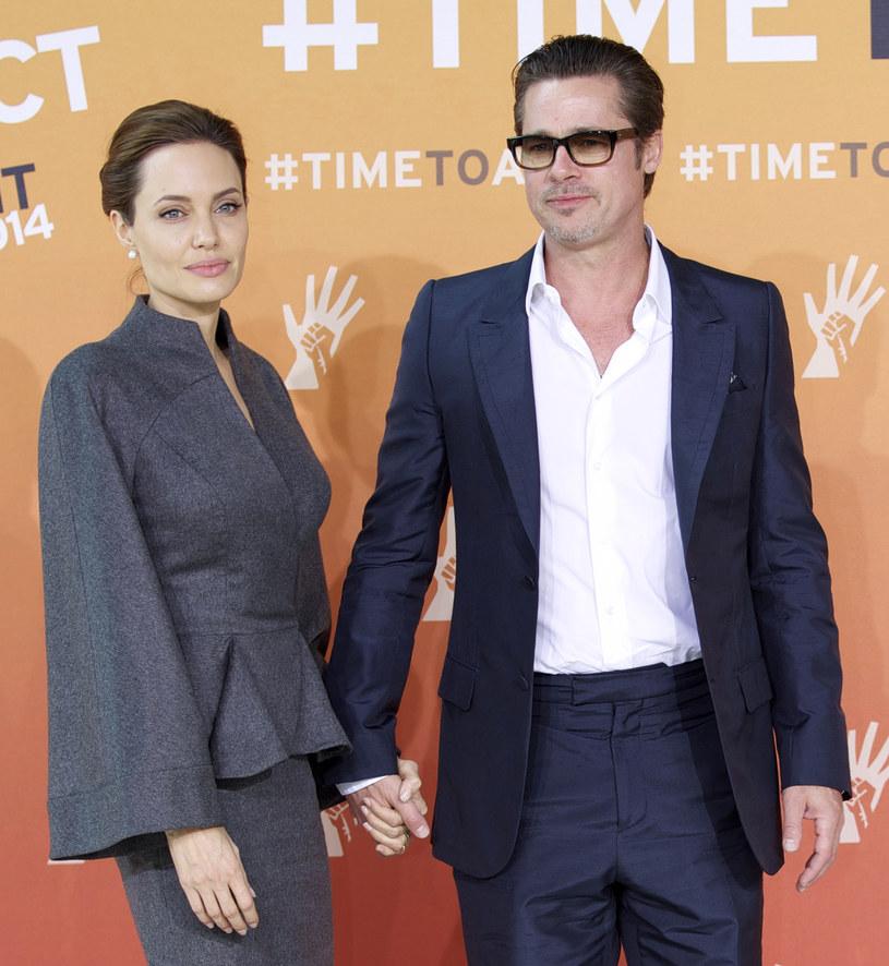 Jolie i Pitt po raz kolejny zagrali razem w filmie /ANADOLU AGENCY /Getty Images