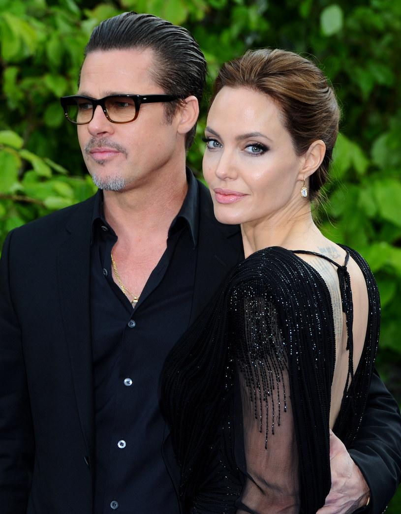 Jolie i Pitt zagrali razem sceny miłosne /Anthony Harvey /Getty Images