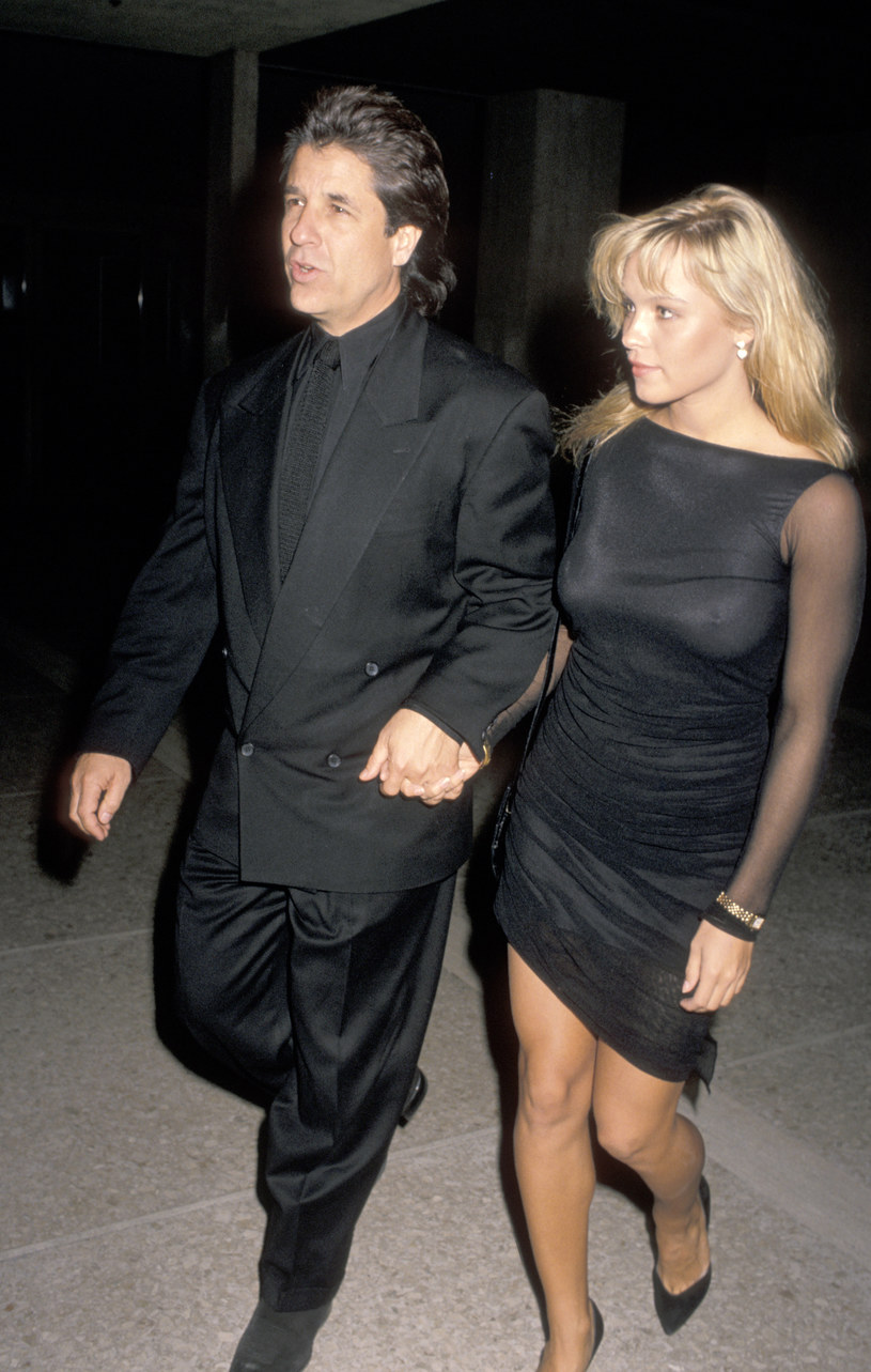 Jon Peters i Pamela Anderson w 1989 roku /Jim Smeal/Ron Galella Collection /Getty Images
