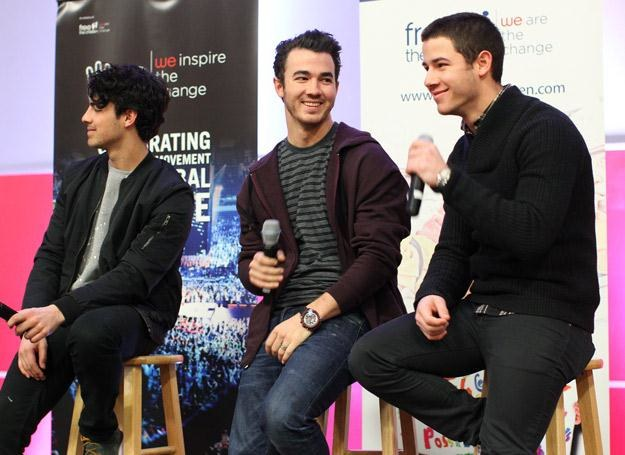Jonas Brothers trochę wyrośli - fot. Adam Bettcher /Getty Images/Flash Press Media