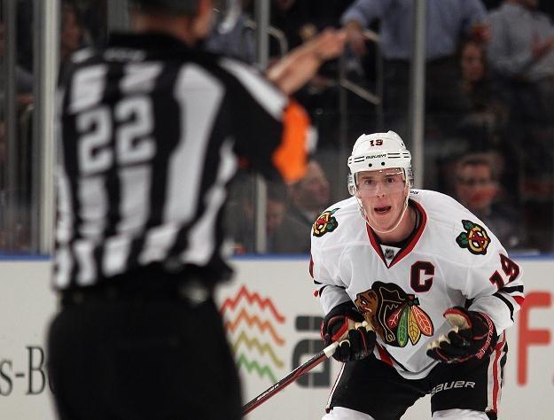 Jonathan Toews, kapitan Chicago Blackhawks. /AFP