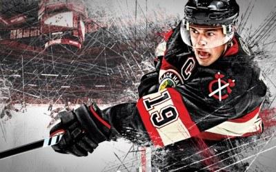 Jonathan Toews - twarz tegorocznego wydania serii NHL /Informacja prasowa