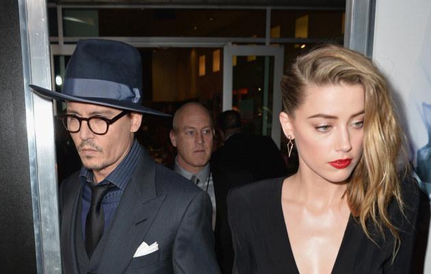 Jonny Depp boi się, że Amber Heard zostawi go dla młodszego /Kevin Winter /Getty Images