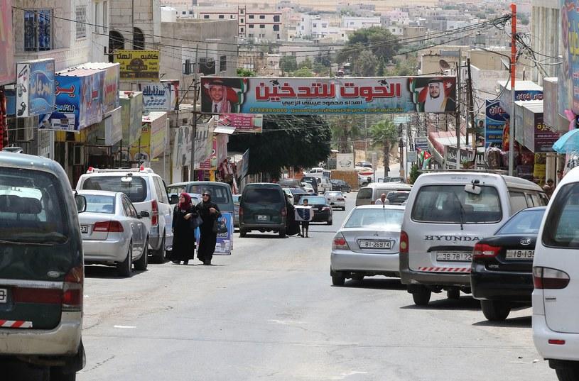 Jordańskie miasto Ramtha w pobliżu granicy z Syrią /KHALIL MAZRAAWI /AFP