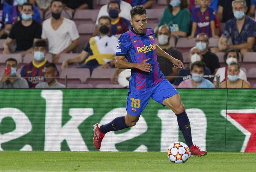 Jordi Alba wypadł ze składu Barcelony po meczu Ligi Mistrzów z Bayernem Monachium /DeFodi Images / Contributor /Getty Images