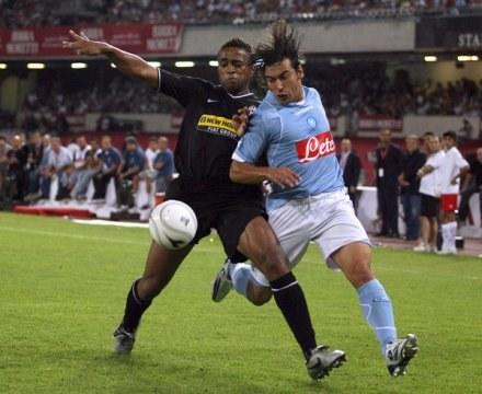 Jorge Andrade (z lewej) /AFP