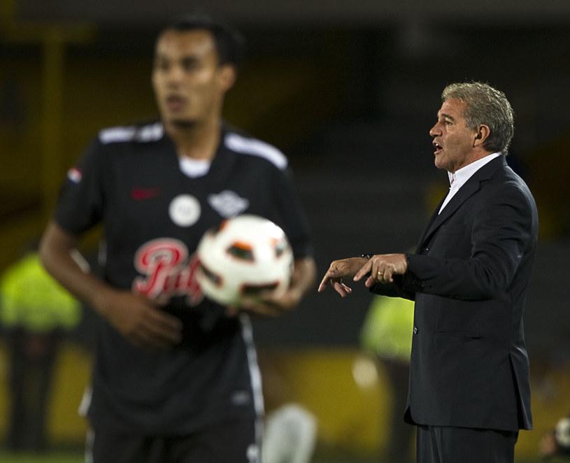 Jorge Burruchaga (z prawej) /AFP