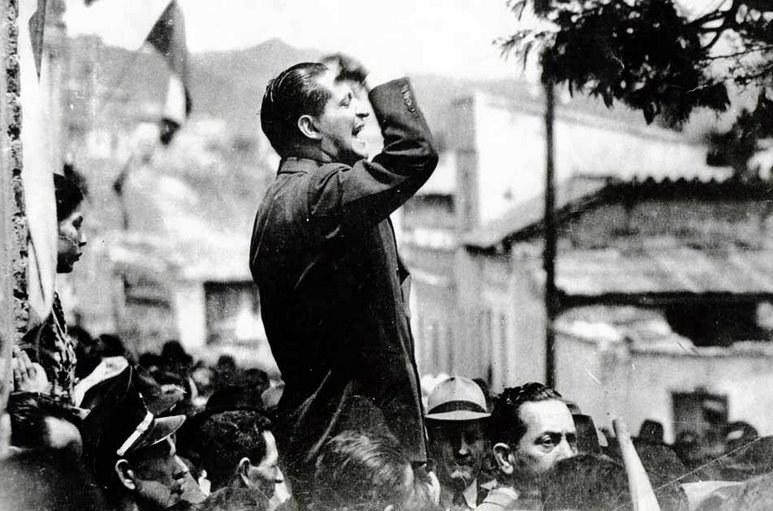 Jorge Eliécer Gaitán porywał za sobą tłumy /Getty Images/Flash Press Media