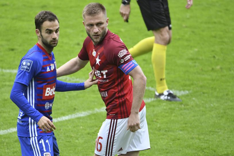 Jorge Felix (z lewej) i Jakub Błaszczykowski /Michał Dubiel /East News