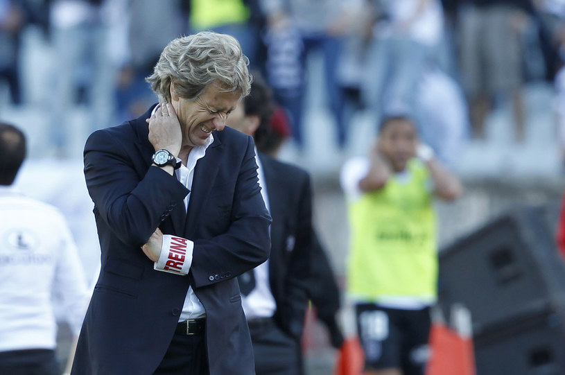 Jorge Jesus nadal będzie trenerem Benfiki /AFP