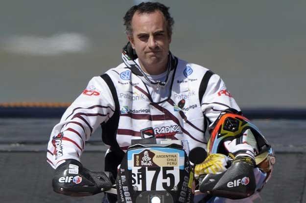 Jorge Martinez Boero tuż przed startem do pierwszego etapu /AFP