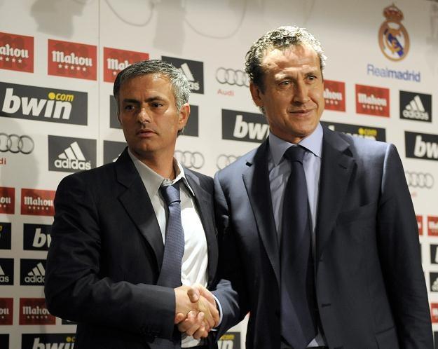 Jorge Valdano (z prawej) nie podobały się metody Jose Mourinho /AFP