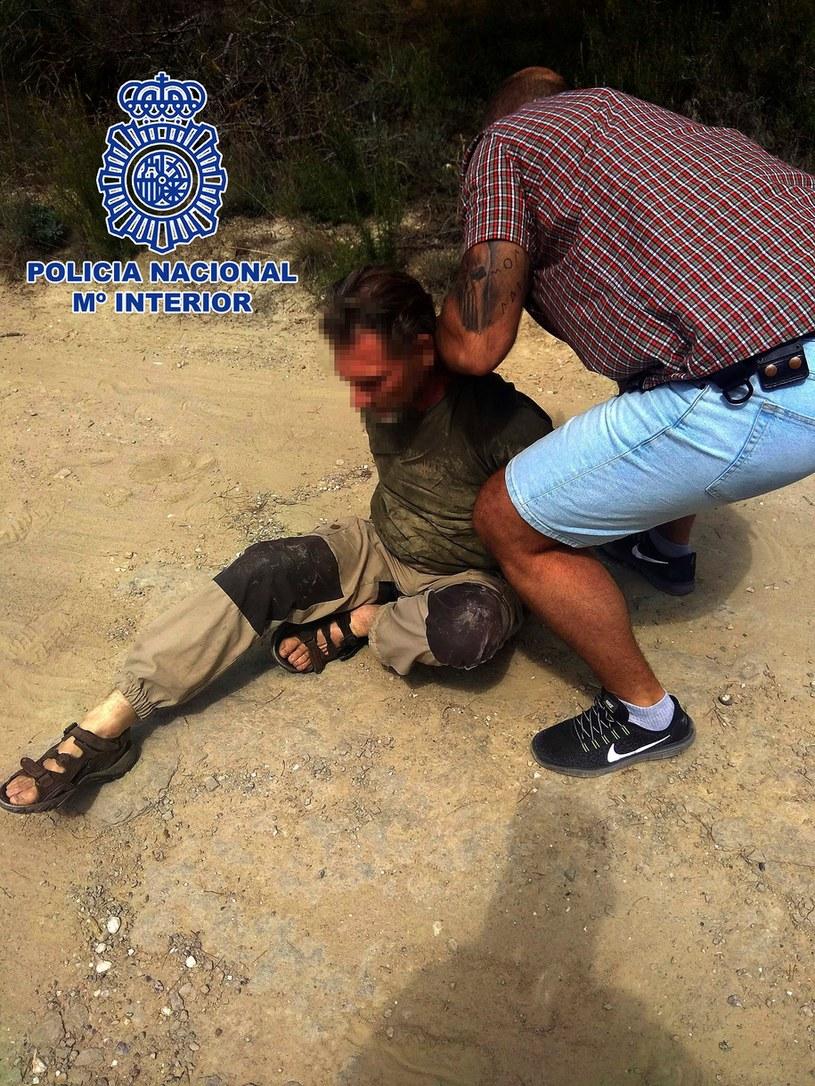 Jos Brech został zatrzymany w Barcelonie w niedzielę /foto. SPANISH NATIONAL POLICE DPT /PAP/EPA