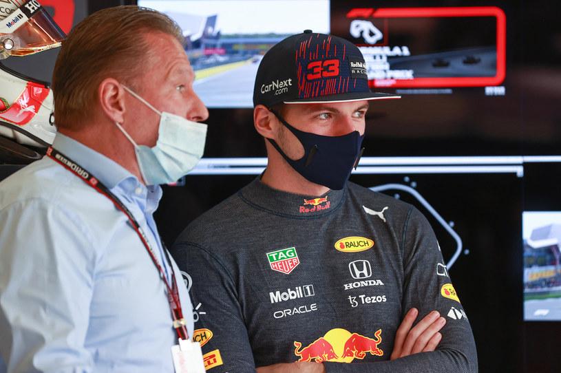 Jos i Max Verstappenowie /Mark Thompson / Staff /Getty Images