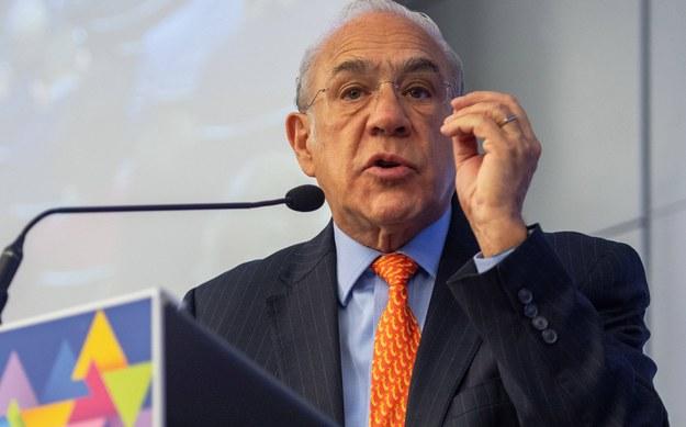 Jose Angel Gurría /CAROLINE BLUMBERG /PAP/EPA