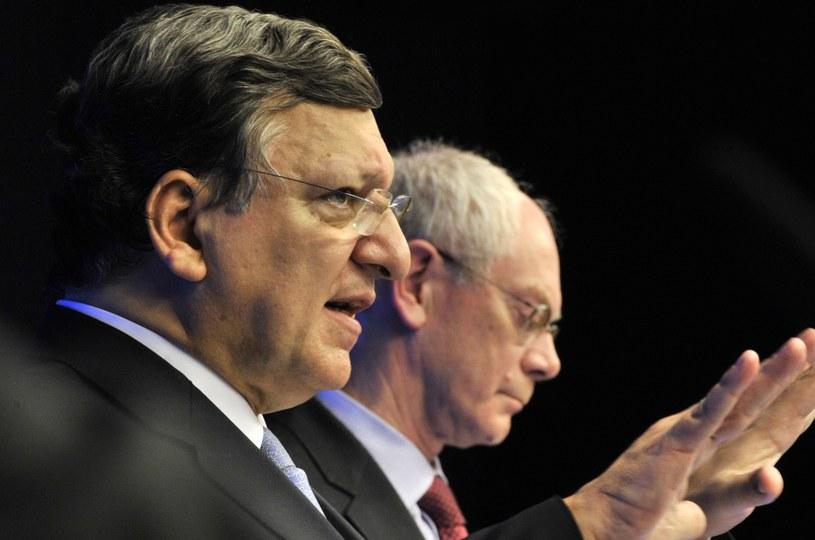 Jose Barroso i Herman Van Rompuy /AFP